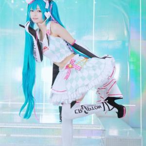. るみなの👴まったり専用垢🍵さんはTwitterを使っています 「レーシングミク🏁♡ 📸 @numa_evo #cosplay...