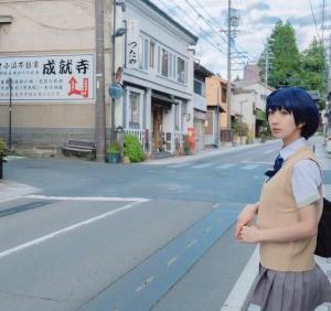 東城咲耶子🐻さんはTwitterを使っています 「#cospaly 小諸で聖地巡礼したときの!...