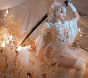 [Noa]블리 Bli🌸さんはTwitterを使っています 「NieR: Automata -2B Wedding 니어:...