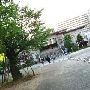 燈火能を観に行く@名古屋西別院