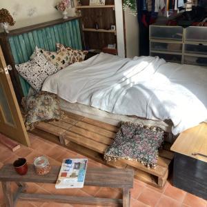 ベッドもヴィンテージに