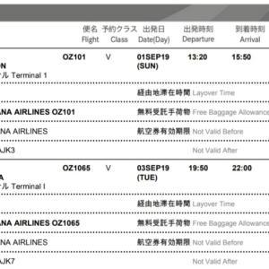 DAY1 仁川国際空港到着 A'REXで明洞へ