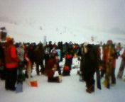 週末の雪、重パウ、久しぶりのみんなとスノーボードキャンプ。