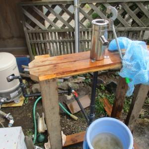 浅井戸ポンプセルフ設置|ガチャポンプと並列使用