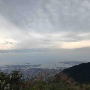 昼食後は六甲山