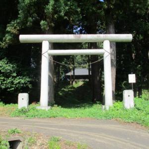 鹿島神社「栃木県芳賀郡茂木町深沢」