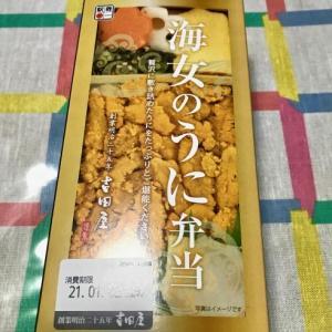 海女のうに弁当。──「吉田屋」@八戸