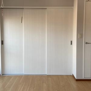 クローゼットのドアは、三枚連動引戸がオススメ