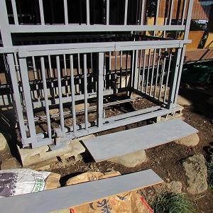 犬舎の改造工事