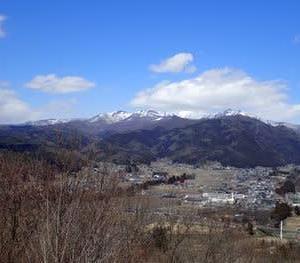 武尊山遠景