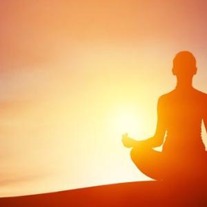 瞑想をやってみました