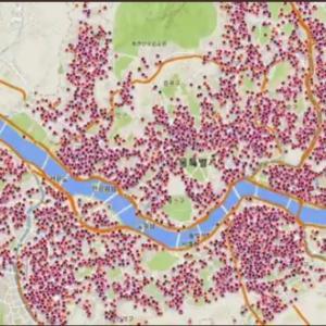 地図で見たソウルの廃業実態、切ない(T_T)