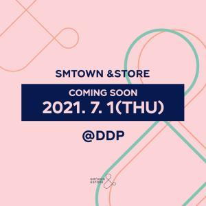 東大門DDPに、またまたSMTOWN&STOREオープン!
