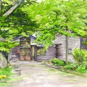 思い出の分校(仙北市・田沢湖・秋田県)