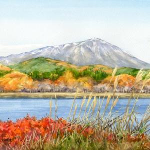霜月の湖畔 (盛岡市・御所湖・岩手県)