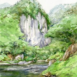六月の丹洞 (岩泉町・岩泉・岩手県)