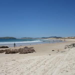 キャンプ旅・4日目♦白砂のビーチ