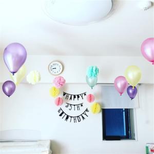 5歳の誕生日。