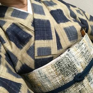 【 K・K様の着姿 】紬きもの2枚