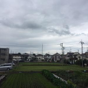 台風が近づいてきた・・・
