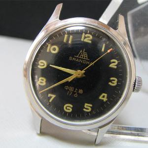 上海時計(ブラック)