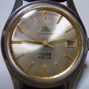 上海手表A623(中国最初日付き)