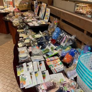 材料マーケット開催 ハンドメイド材料が2,000点!!