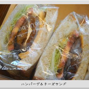 本日のサンドイッチ★今朝の海