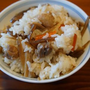 鶏ゴボウの混ぜご飯★メバルの煮付け