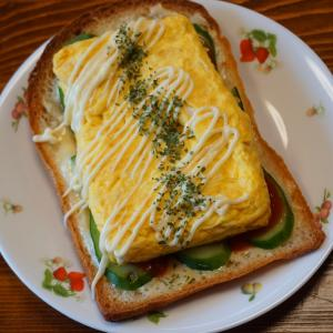 山食パンミミオープンサンド★本日のサンドイッチ
