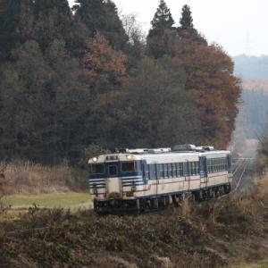 【アーカイブ~磐越西線キハ40系】 初冬