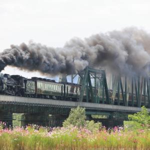 2021年9月 磐越西線 いい煙でした