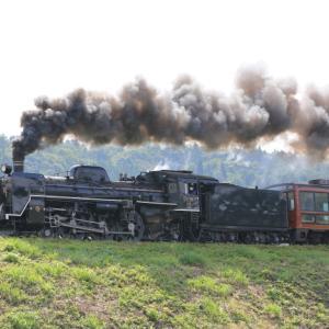 2021年9月 磐越西線 いい煙でした(続き)