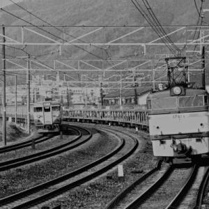 【アーカイブ~電気機関車】 EF61 山崎のカーブ