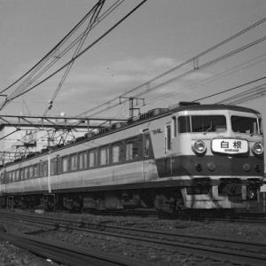 【アーカイブ~特急列車】 『白根』と『あまぎ』