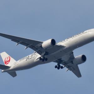 902(20201470) 新宿上空機 (Jal A359二号機・ANA StarWars機)
