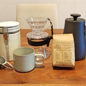 【コーヒー大好き2】自宅でコーヒー淹れてみた!揃えた道具を紹介するよ