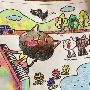 虹色のピアノ♪素敵な音を描いてほしい
