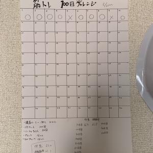 100日筋トレ(ダイエット)チャレンジ 10日経過〜