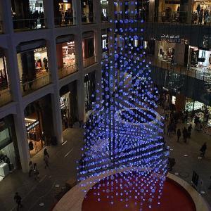 ホワイトKITTE☆水引のクリスマスツリー