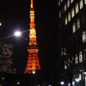 東京タワーライトアップ☆2月7日