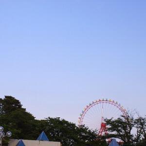夕空を見に☆多摩湖