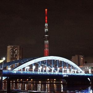 赤く輝いて☆スカイツリー特別ライティング☆