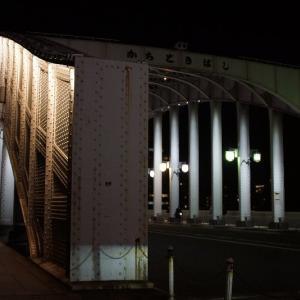夜の隅田川☆東京タワーとスカイツリー