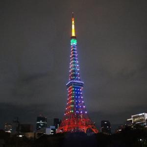 東京タワー☆特別ライトアップ