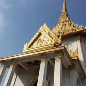タイ ワット・トライメットからの寺院巡り