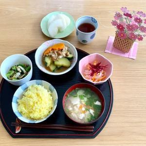 北海道の野菜を使った助産院ごはん