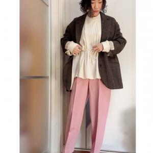 アラフォーママが着やすいピンクのえらび方。