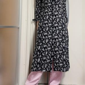 年中使えるワンピースで初夏の着まわしコーデ