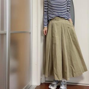 チノ素材は経年美化をたのしみながら着る